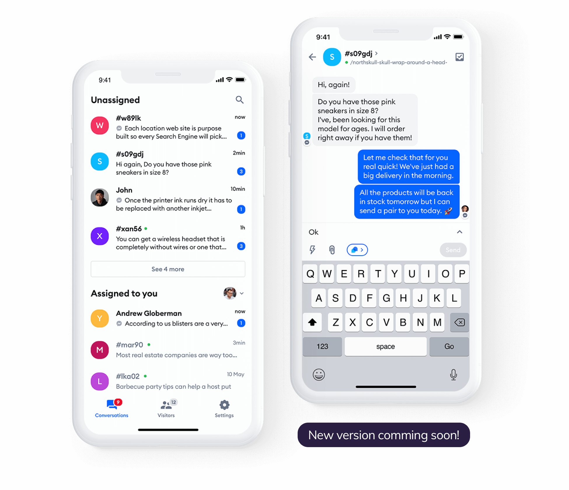 live chat mobile app