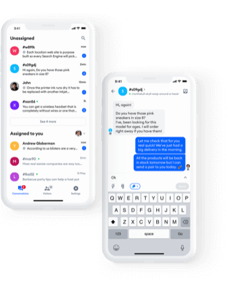 live chat in browser
