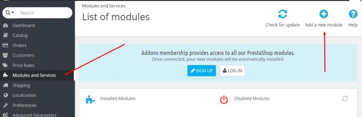 PrestaShop Modules And Services