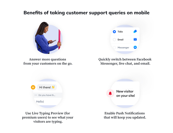 Benefits of mobile customer support