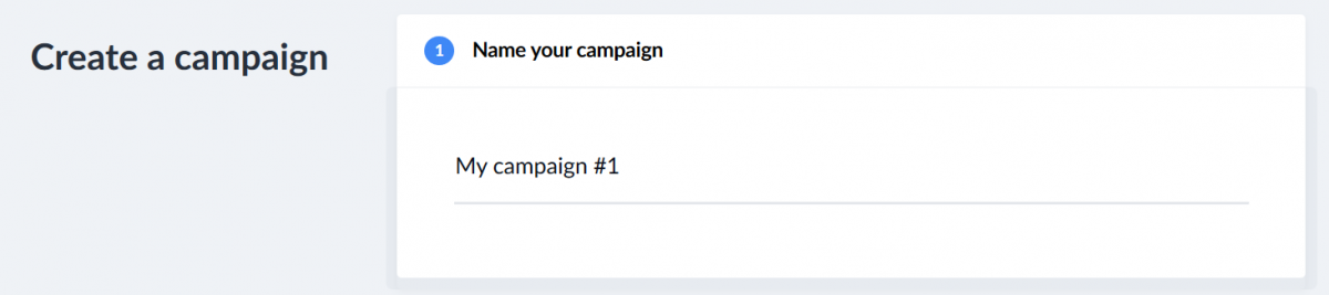 naming your campaign
