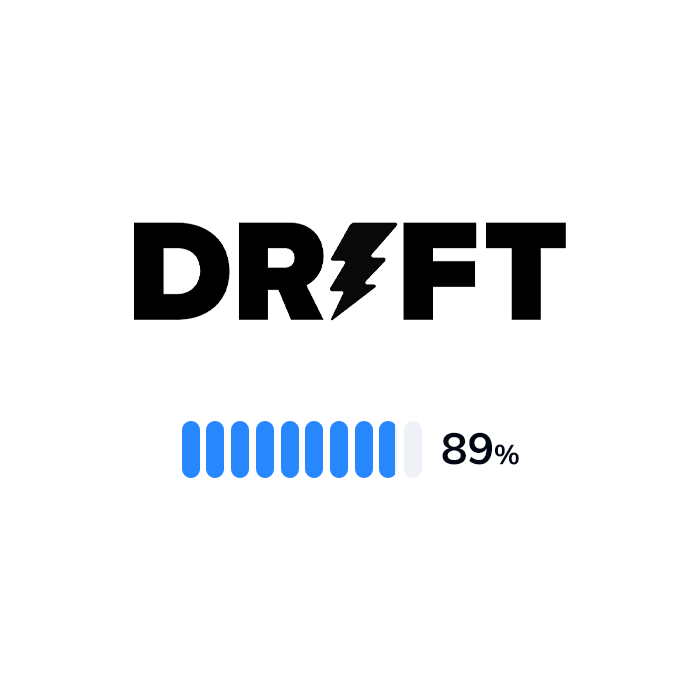 The logo and rating of Drift