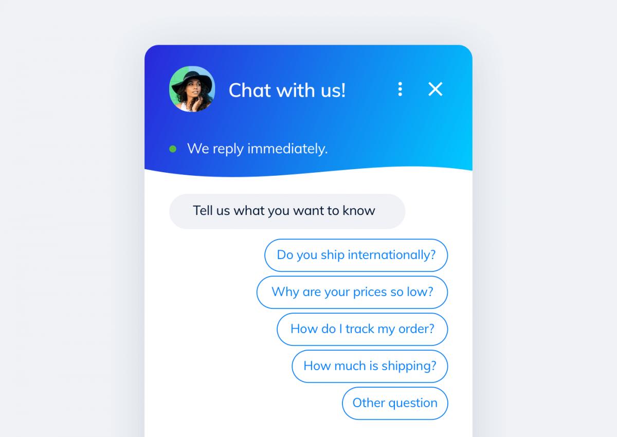 chatbot for website