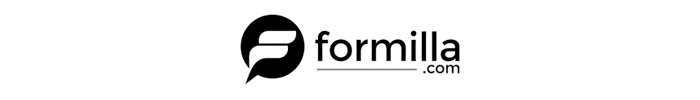 The official logo of Formilla live chat app.