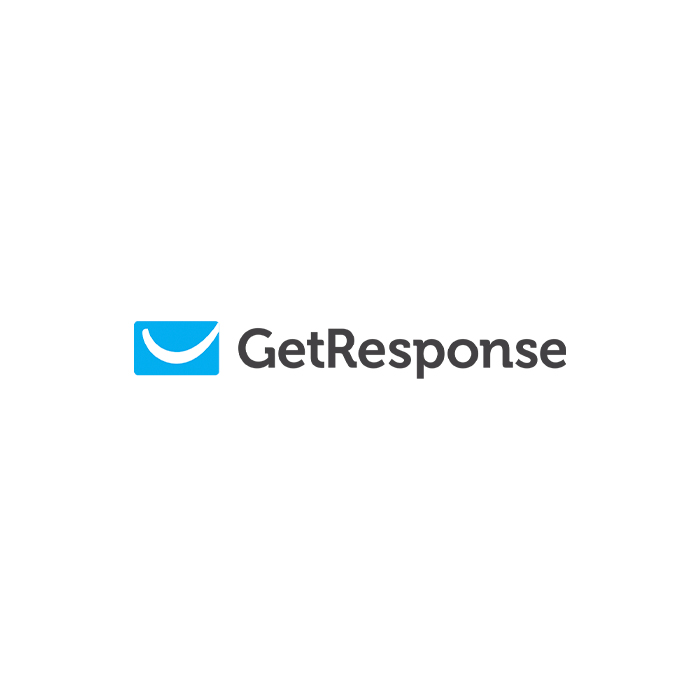 The logo of GetResponse