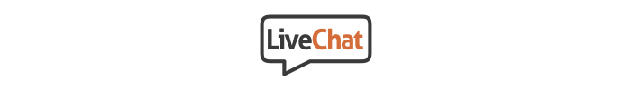 The official logo of LiveChat app.
