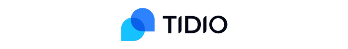 The official logo of Tidio live chat app.