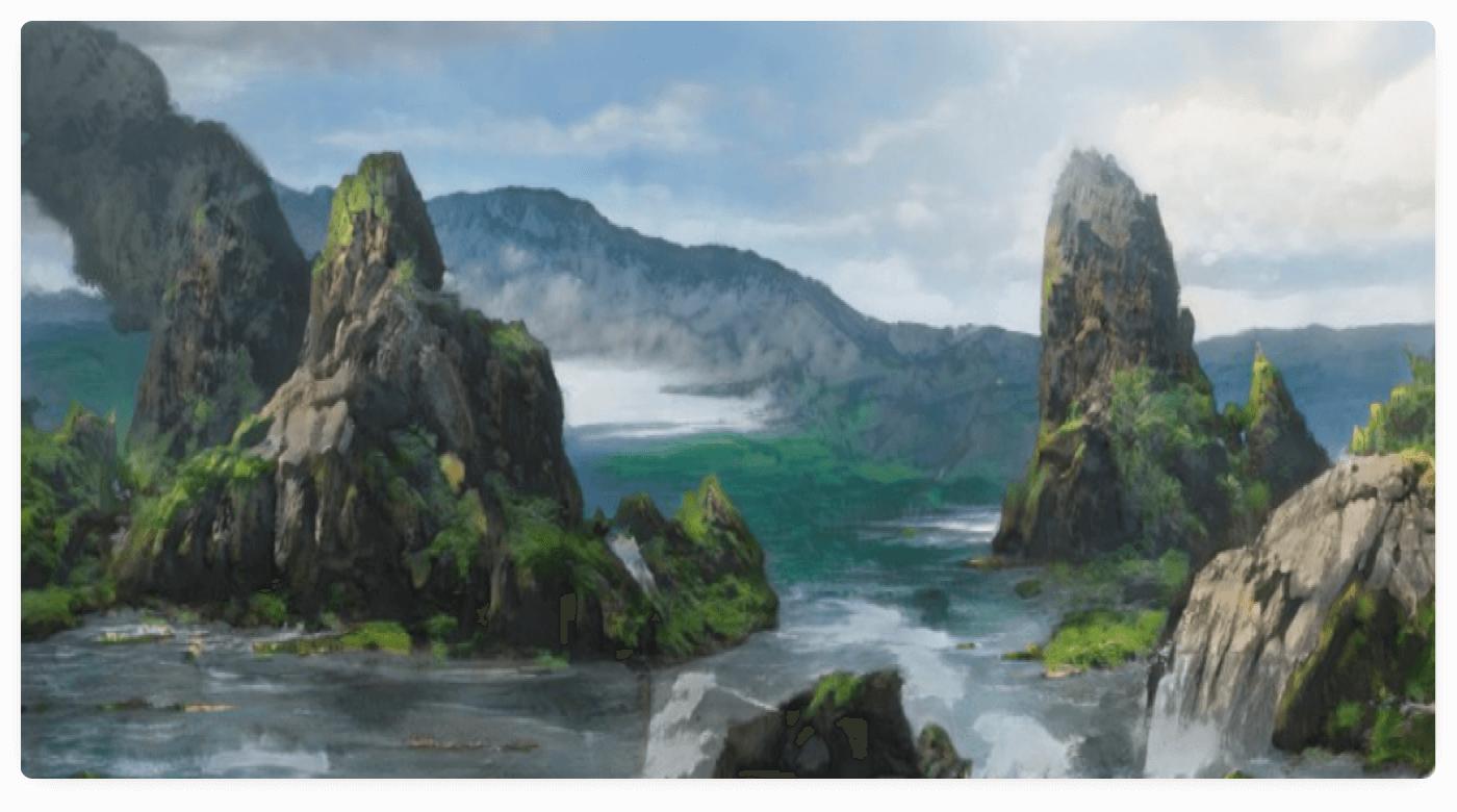 AI-generated landscape