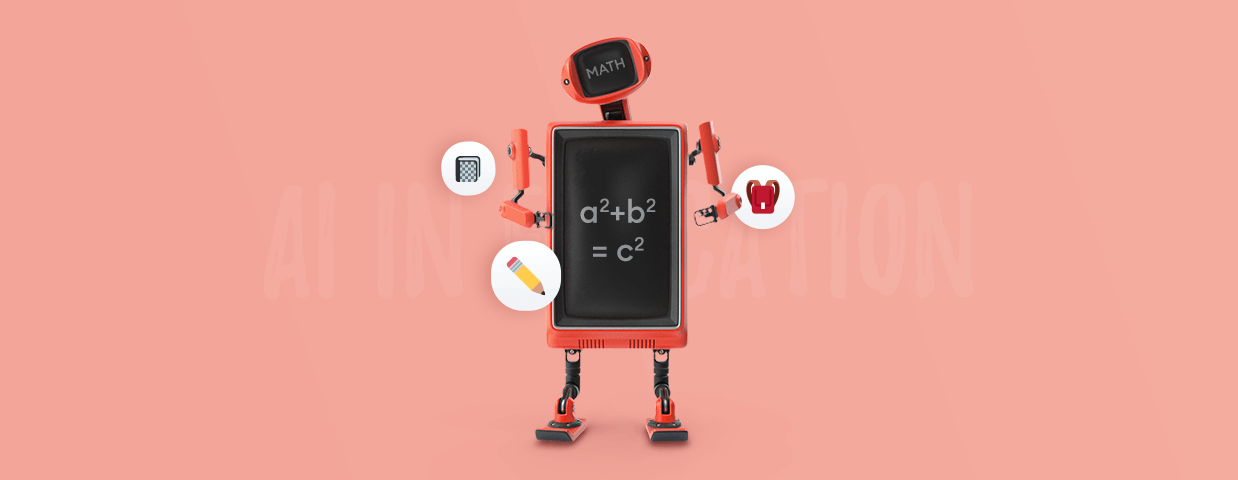AI in education cover image