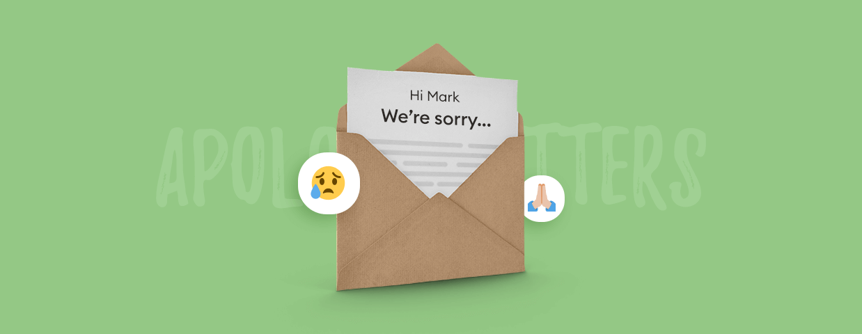 Apology letter cover image
