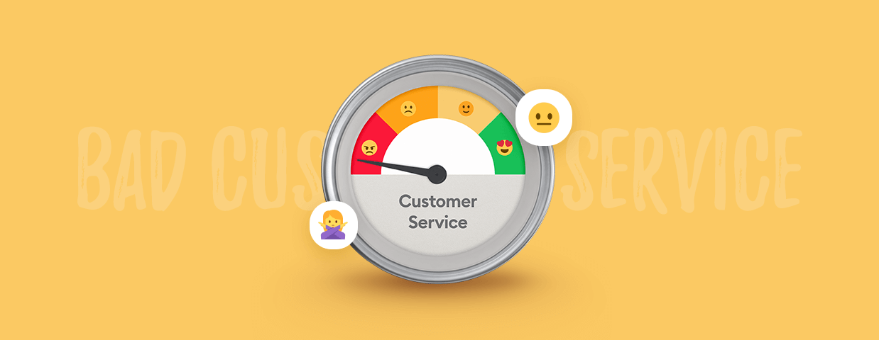 Bad customer service cover image