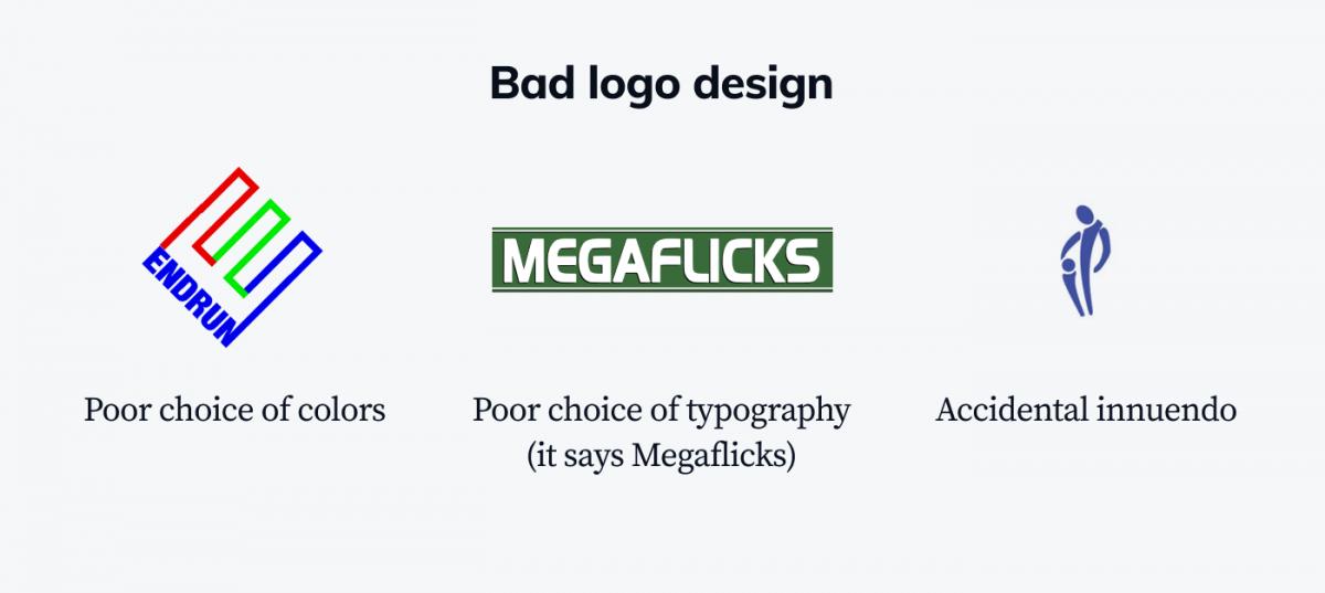 Bad logo design examples