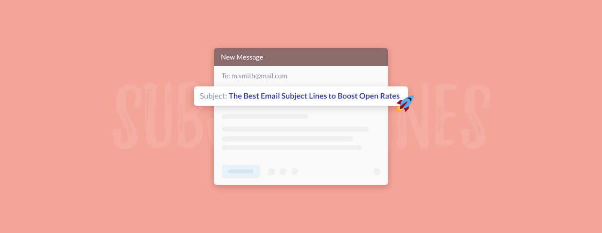 Best email subject lines cover art