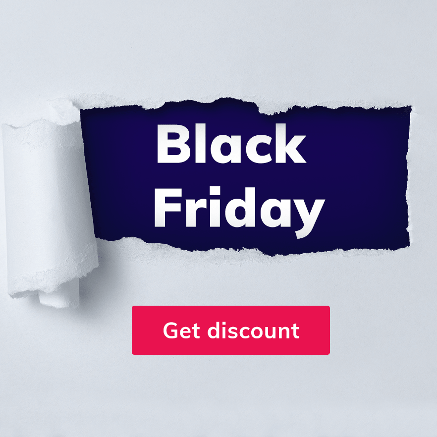 black friday discount image