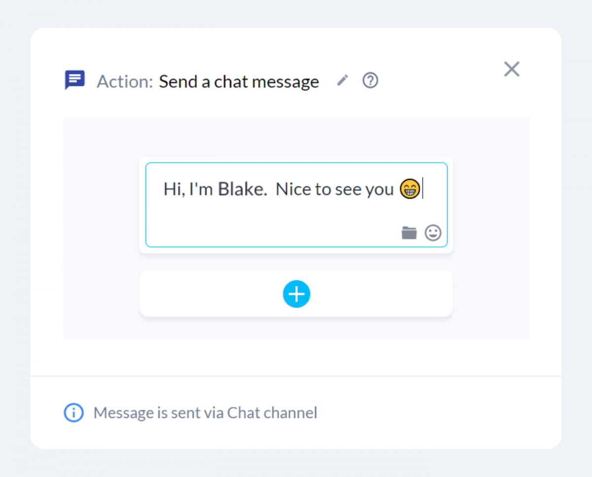 Blake the Black Friday chatbot configuration