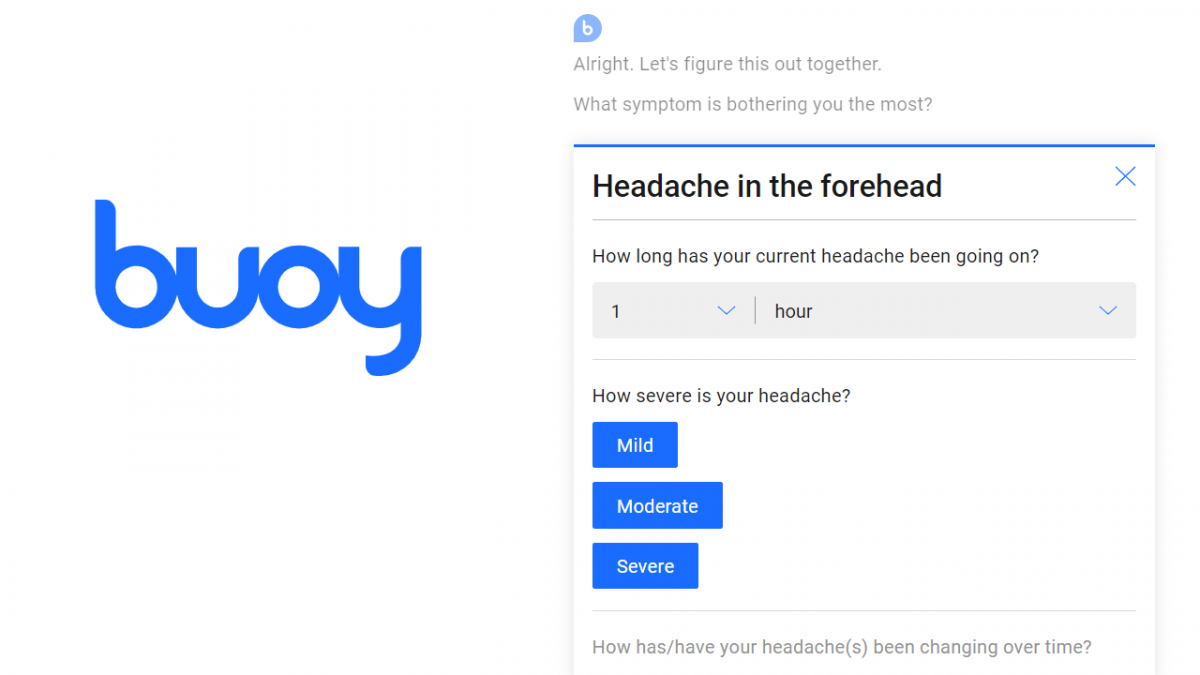 buoy health chatbot