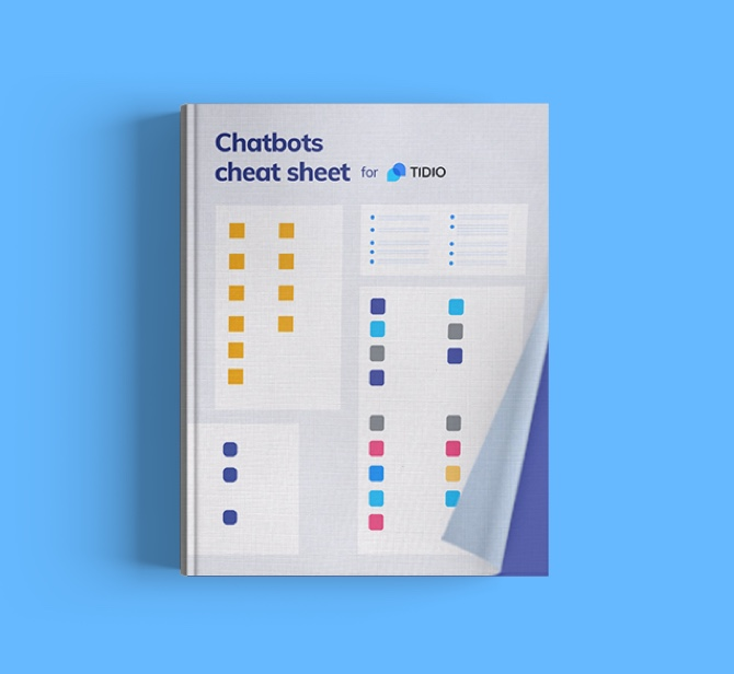 Chatbots Cheat Sheet for Tidio