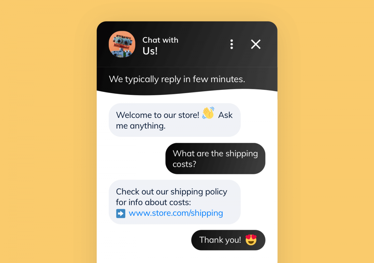 An AI chatbot for marketing and customer service automation
