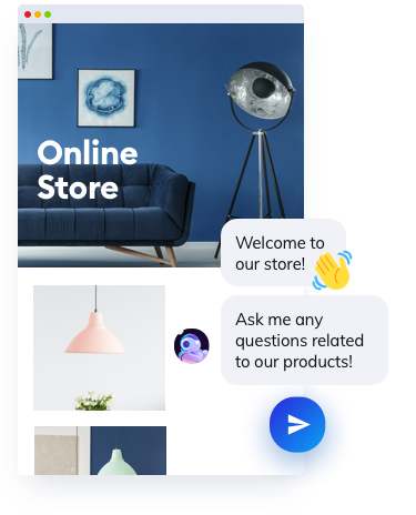 Chatbot for online store