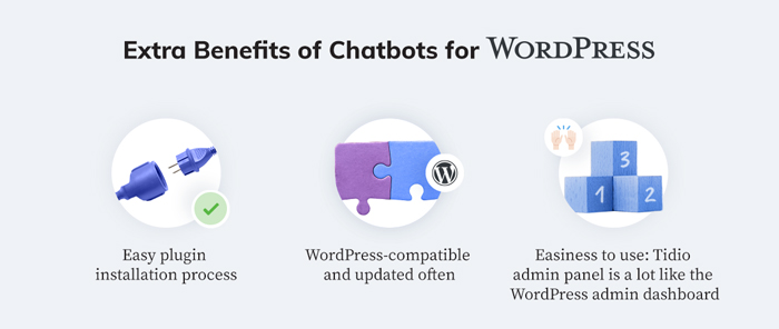 Benefits of WordPress chatbots