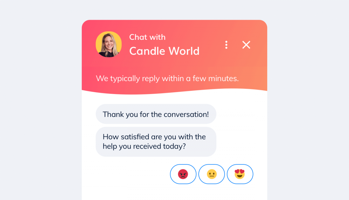 Collecting feedback to build better relationship with customers