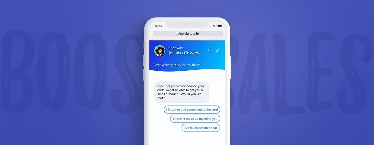 chatbots reduce shopping carts