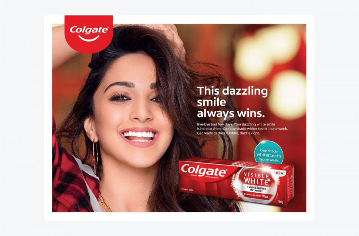 Colgate's recognition example