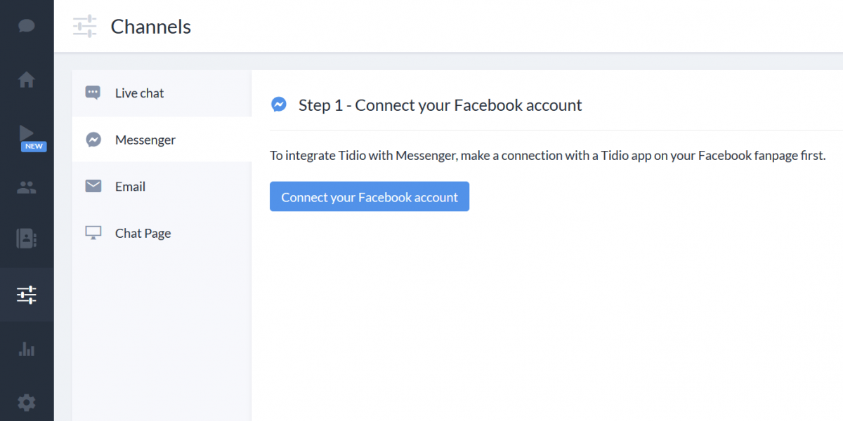 connect-Tidio-with-your-facebook-account