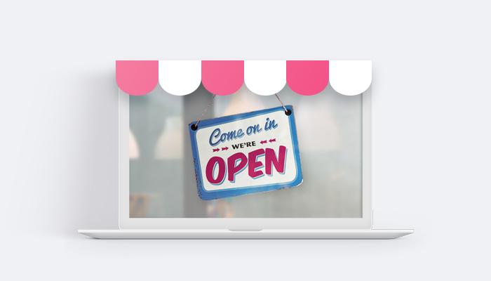 Digital shopfront