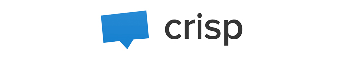 The logo of Crisp chat plugin