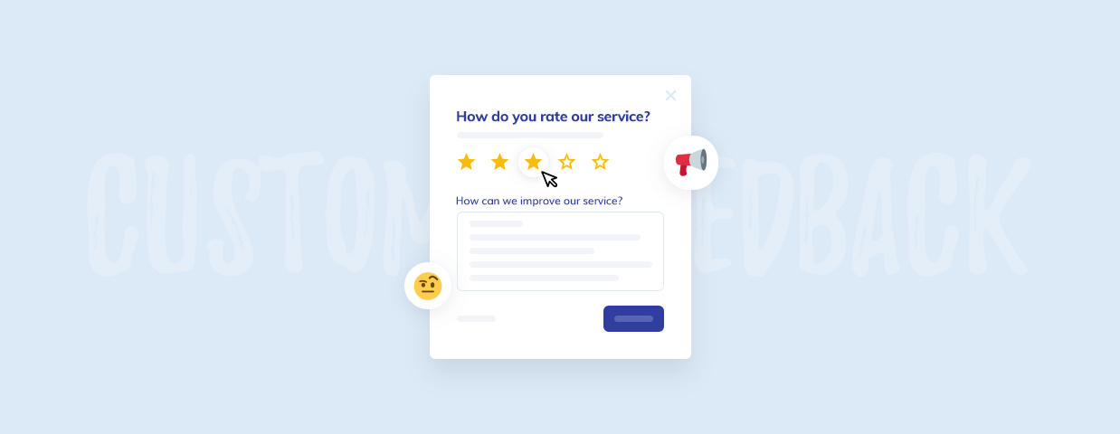Customer feedback hero image