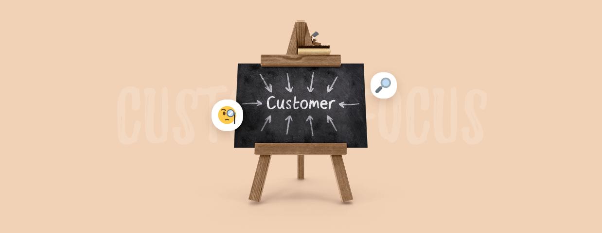 Customer focus cover image