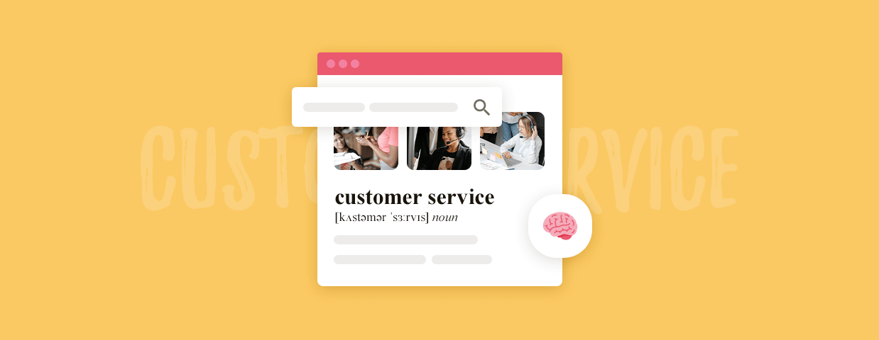Customer service definition cover image