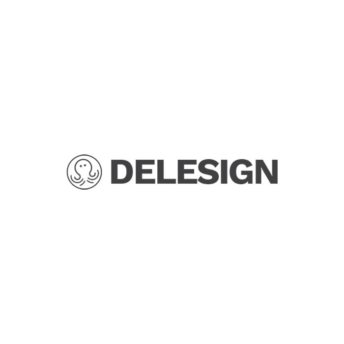 The logo of Delesign
