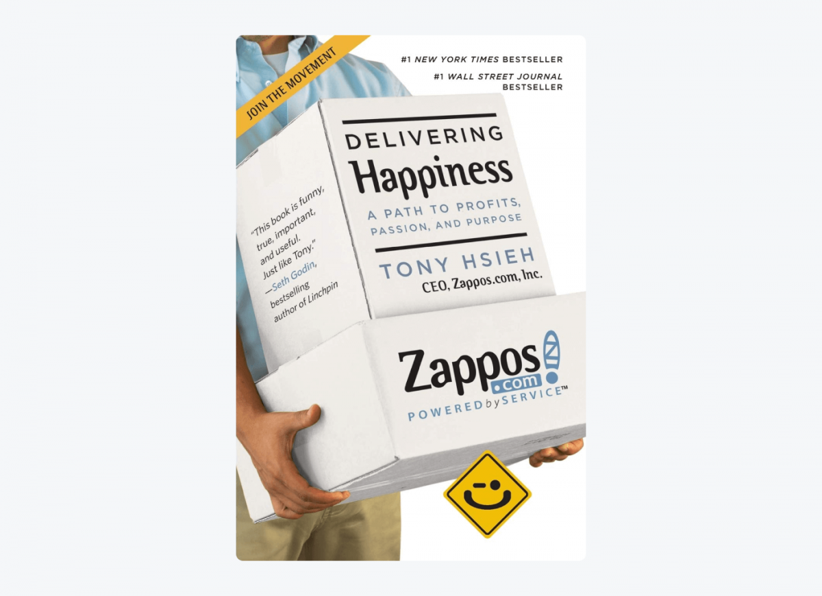 Book cover of Delivering Happiness: A Path to Profits, Passion, and Purpose by Tony Hsieh