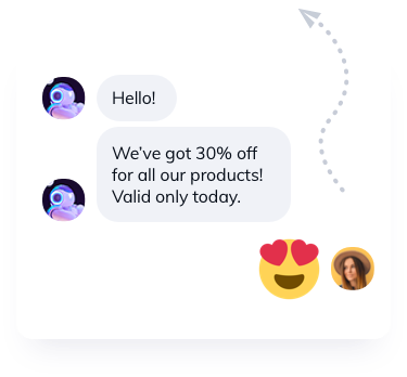 Discount Chatbot template