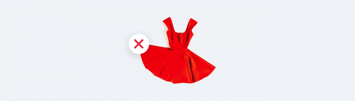 Things you should not sell online - dresses