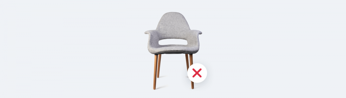 Things you should not sell online - furniture