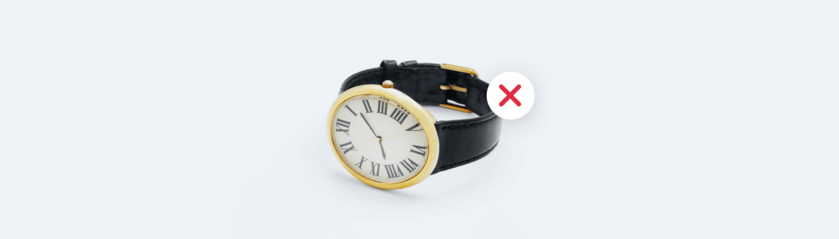 Things you should not sell online - watches