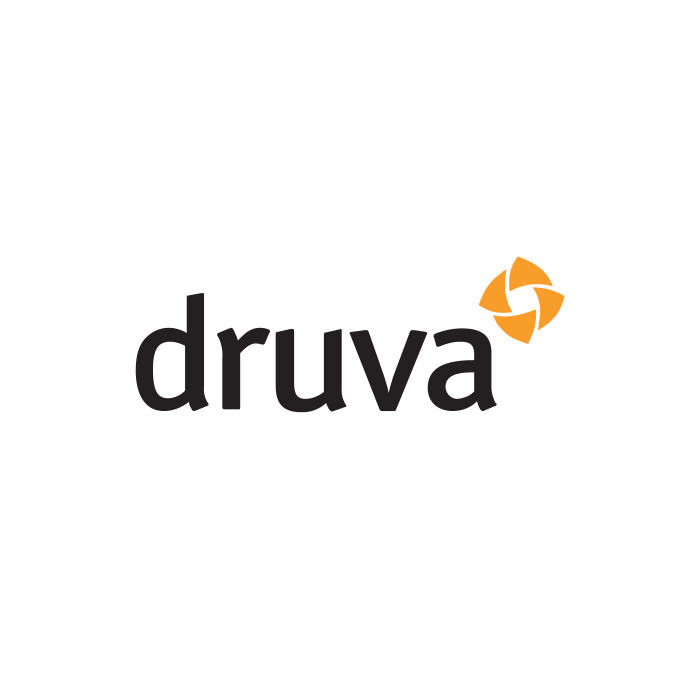 The logo of Druva