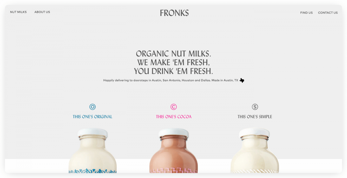 Fronks homepage
