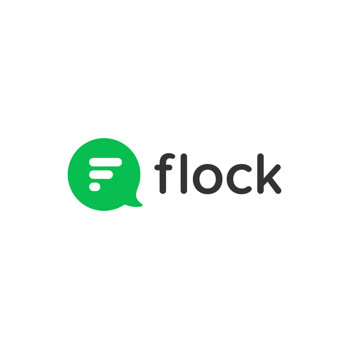 The logo of Flock