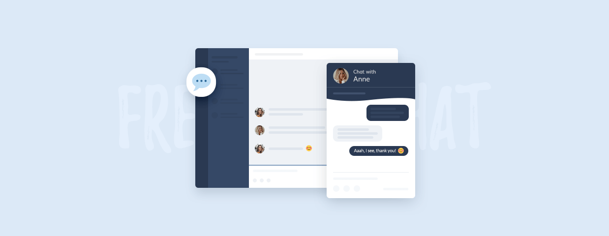 Free live chat tools cover image