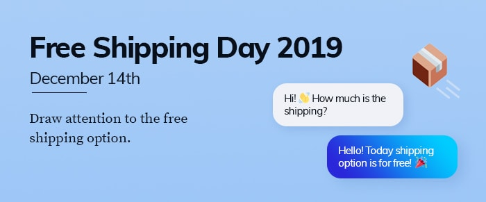 Free Shipping Day Banner 2019