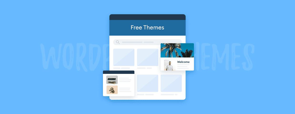 Free WordPress themes cover image