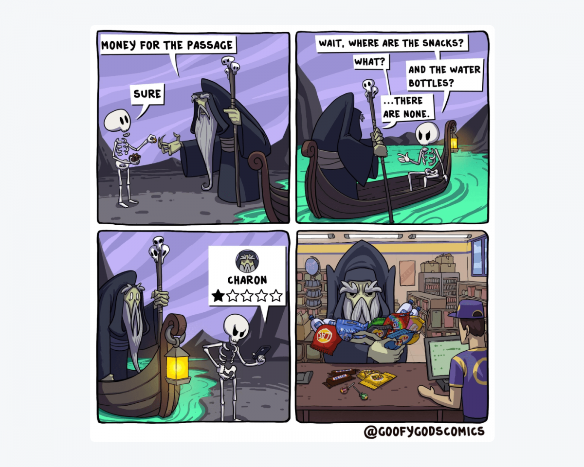 An image with comics