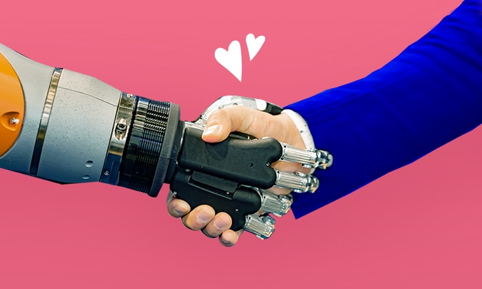 People and chatbots can cooperate