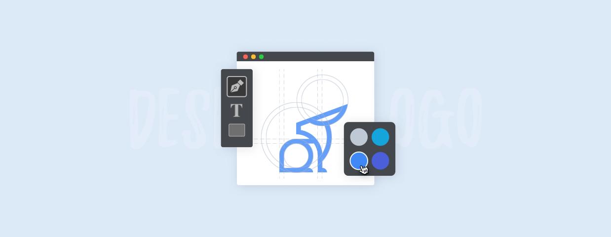 How to make a logo cover image