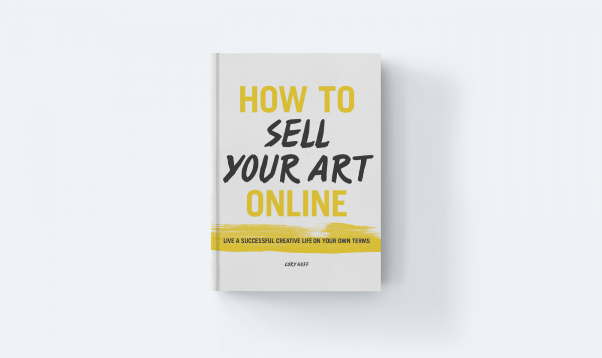A book about selling art online