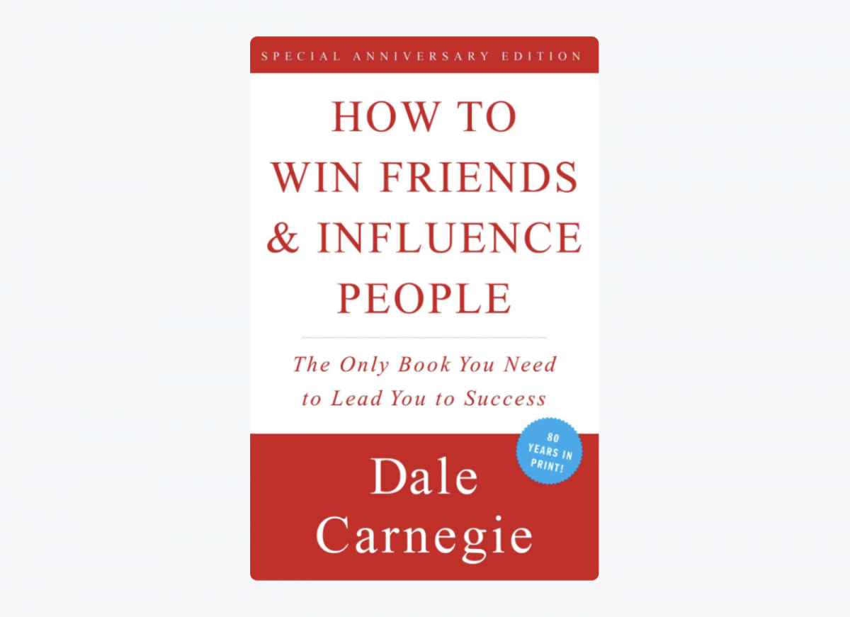 Book cover of How to Win Friends and Influence People by Dale Carnegie